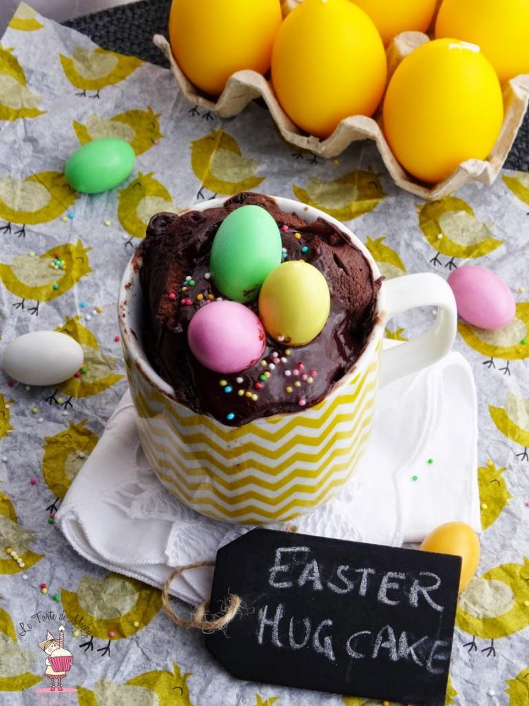 Easter Mug Cake (Torta in tazza di Pasqua) - Le Torte di Michy